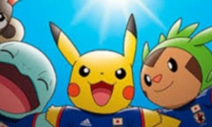 Pikachu Maskot Timnas Jepang