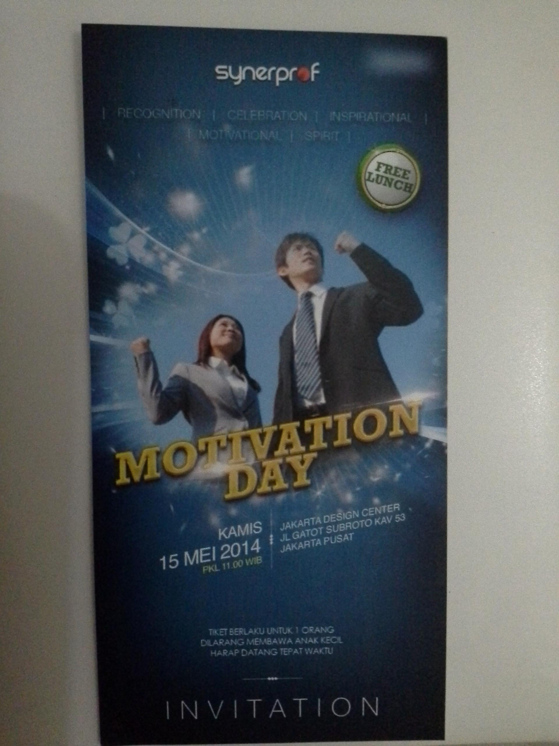 Tiket Seminar Motivasi Jakarta