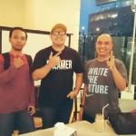 Bareng Adit RK ex-vokalis Edane di SB1M