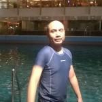 Berenang Sore Hari di Kolam Renang Cikini