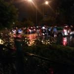 Ngungsi Yuk choi Banjir Jakarta Februari 2015