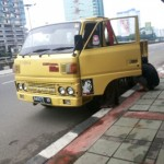 Kendaraan Truck Mogok