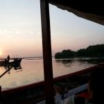 Foto Sunrise Terbaik Muara Kamal Cengkareng
