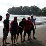 Pesona Wisata Pantai Batu Karas Pangandaran Jawa Barat