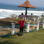Tempat Wisata Pantai Batu Hiu Pangandaran