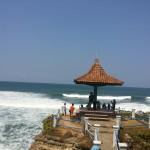 Wisata Pantai Batu Hiu Pangandaran