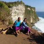 Pemandangan Tebing Obyek Wisata Uluwatu Bali