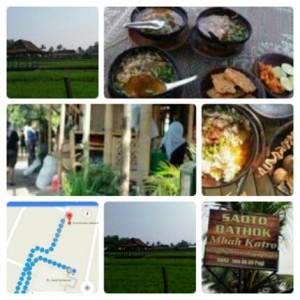 Tempat Makan Enak Romantis di Jogja Soto Mbah Katro