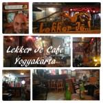 Kafe Unik di Jogja Lekker Je Cafe