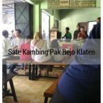 Kuliner Klaten Sate Kambing Pak Bejo