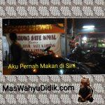 Tempat Makan Sop Kambing Enak Jelambar Warung Sate Noval Jakarta Barat