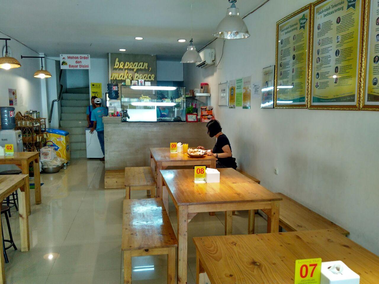 Tempat Makan Vegetarian di Jogja