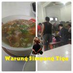 Makan Sop Iga di Jakarta Barat Warung Simpang Tiga Borobudur