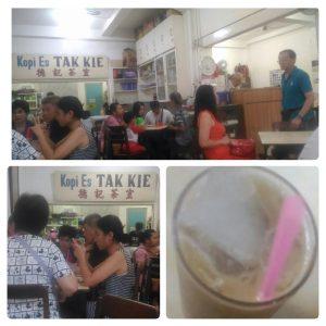 Tempat Ngopi Terbaik di Jakarta Barat yaitu Kopi Es Tak Kie