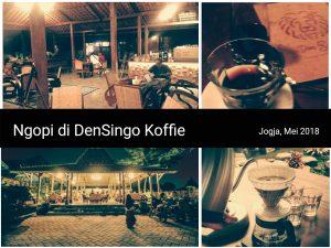 Care instagramable di jogja, cafe unik jogja Den Singo Koffie